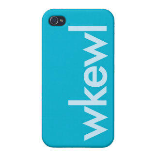 """""""WKEWL"""" iPhone 4/4S COVERS"""