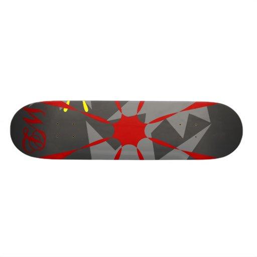 WL Flower Skateboard Grey