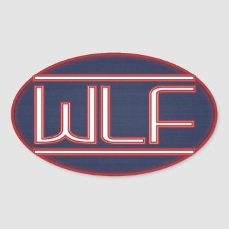 WLF Badge Oval Sticker