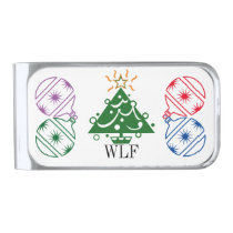WLF Big Things n Little Packages Initials Monogram Money Clip