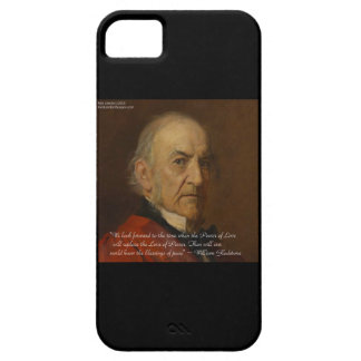 Wm Gladstone & Power Of Love Quote iPhone 6 Case