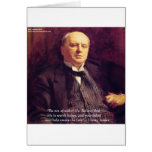 "Wm James ""Life Worth Living"" Wisdom Quote Gifts Greeting Cards"
