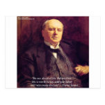 "Wm James ""Life Worth Living"" Wisdom Quote Gifts Postcards"