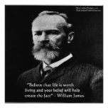 """Wm James """"Value Of Life"""" Poster by Rick London Posters"""