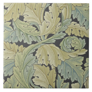 Wm Morris Acanthus Arts & Crafts Foliage Tile