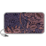 Wm Morris Floral on Phone Cases and Covers Notebook Speaker