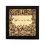 Wm Morris Pre-Raphaelite Customizable Tiled Box Trinket Box
