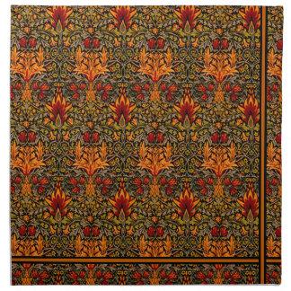 Wm. Morris Saturated Cloth Napkin