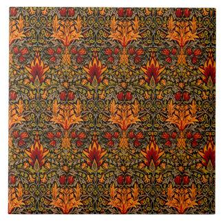 Wm. Morris Saturated Large Square Tile