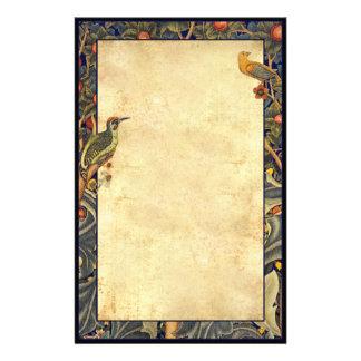 Wm Morris Woodpecker1877 Pre-Raphaelite Stationery