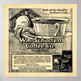 Wm. Shotten Coffee - Vintage Coffee Prints