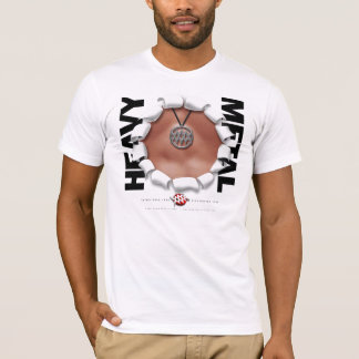 WMA White Fitted T-Shirt