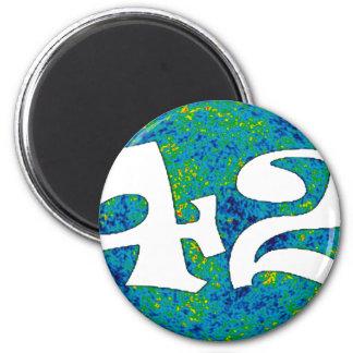 wmap 42 magnet