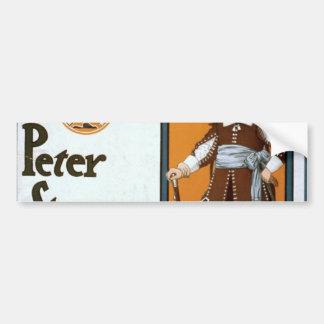 WmH Crane as Peter Stuyvesant Governor of New Amst Car Bumper Sticker