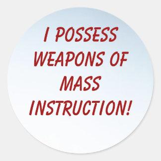 WMI Teacher Stickers