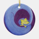 Wmoon Christmas Tree Ornament