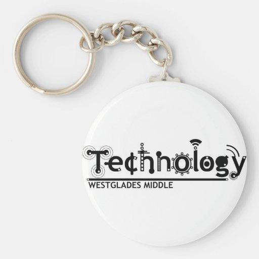 WMS_technology logo Key Chains