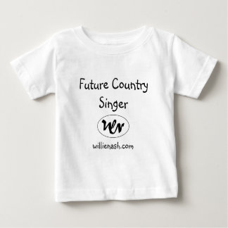 wn logo, Future Country Singer, willienash.com Baby T-Shirt