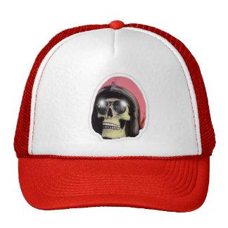 W'n R'n wahol Skull Red Truckers Cap Trucker Hat