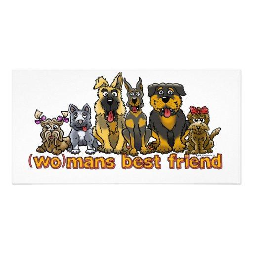 (WO)MANS BEST FRIEND PHOTO CARD