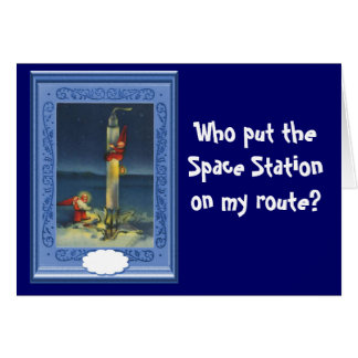 Wo put the Space Sation on my route? Card