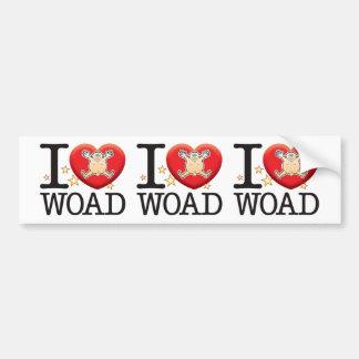 Woad Love Man Bumper Sticker