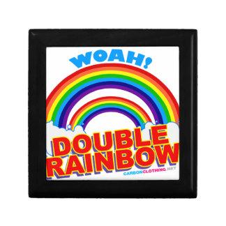 Woah arco iris doble