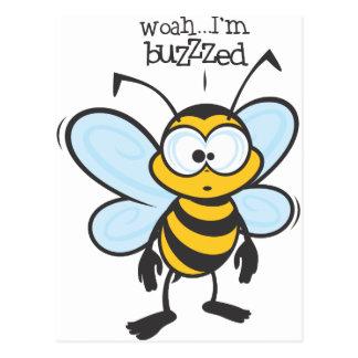 Woah - me zumban (Buzzzed) Tarjetas Postales
