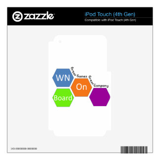 WOB iPod Touch 4th Gen Skin iPod Touch 4G Skin