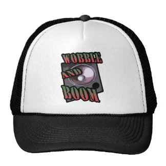 wobble and boom Dubstep Trucker Hat