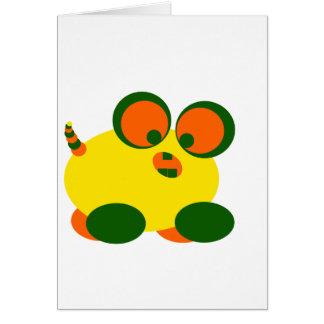Wobble Monster Card