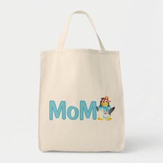 Wobble Penguin Gift for Mom - Grocery Tote Bag