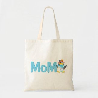 Wobble Penguin Gift for Mom - Canvas Bags