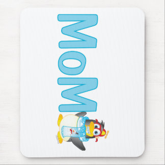 Wobble Penguin Gift for Mom - Mouse Pad