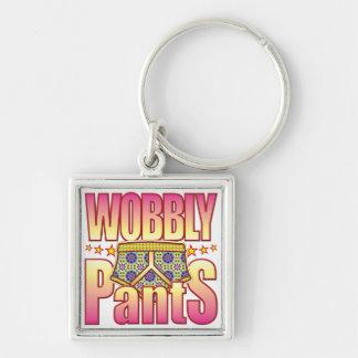 Wobbly Flowery Pants Keychain