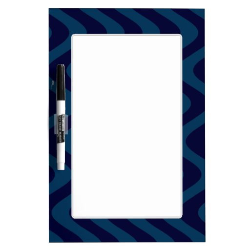 Wobbly Waves (Blue/Blue) Dry-Erase Boards