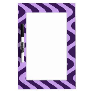 Wobbly Waves (Lilac/Violet) Dry-Erase Board