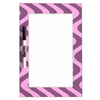 Wobbly Waves (Pink/Pink) Dry-Erase Board