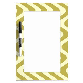 Wobbly Waves (Yellow/Yellow) Dry-Erase Board