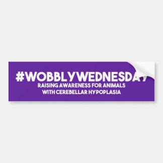 Wobbly Wednesday Sticker