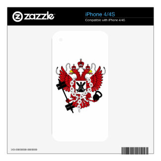 WOD Coat Of Arms Decals For The iPhone 4S