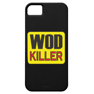 WOD Killer - Workout And Weight Lifting iPhone 5 Cases