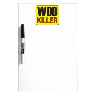WOD Killer - Workout And Weight Lifting Dry-Erase Boards