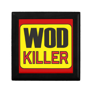 WOD Killer - Workout And Weight Lifting Trinket Boxes