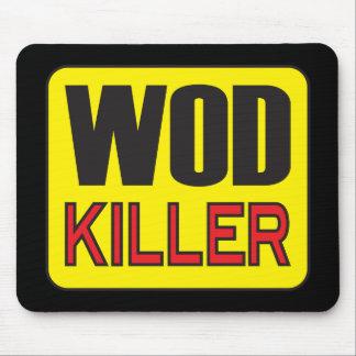 WOD Killer - Workout And Weight Lifting Mousepad