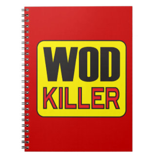 WOD Killer - Workout And Weight Lifting Notebook