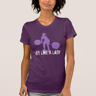 WOD - Levante como una señora Camisetas