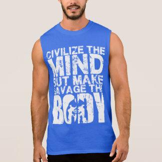 WOD Motivation - Make Savage The Body Sleeveless Shirt