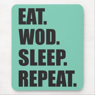 WOD Motivation Mouse Pad