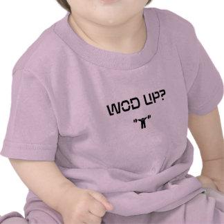 ¿WOD PARA ARRIBA negro Camisetas